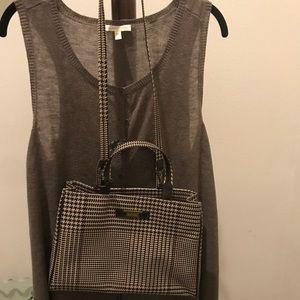 Lauren Brown Plaid purse